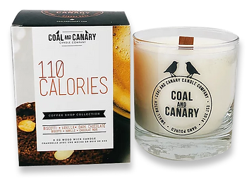 110 Calories candle