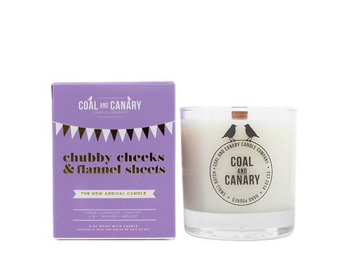 Chubby Cheeks & Flannel Sheets (the new arrival candle)