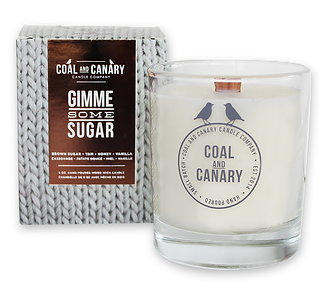Gimme Some Sugar candle