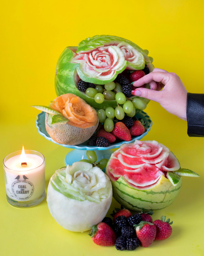 NAKANO fruit cutting challenge!
