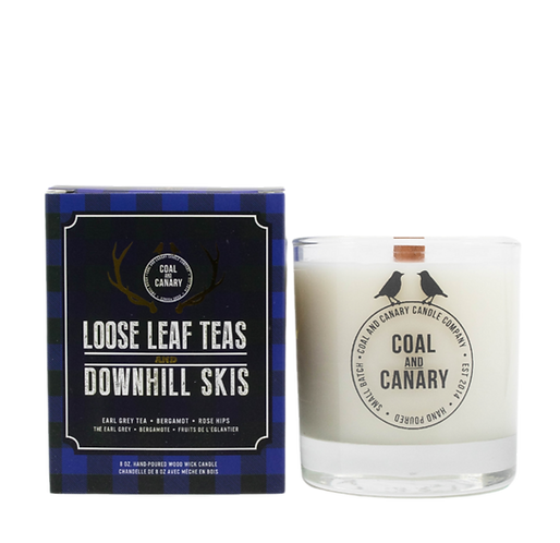 Loose Leaf Teas and Downhill Skis
