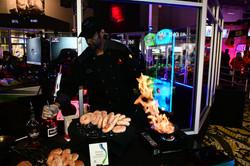 Flaming Donuts