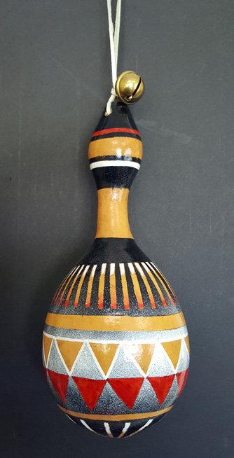Hawk's Bell Rattle Gourd