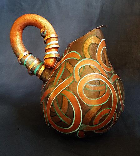Copper Spring Pitcher Gourd