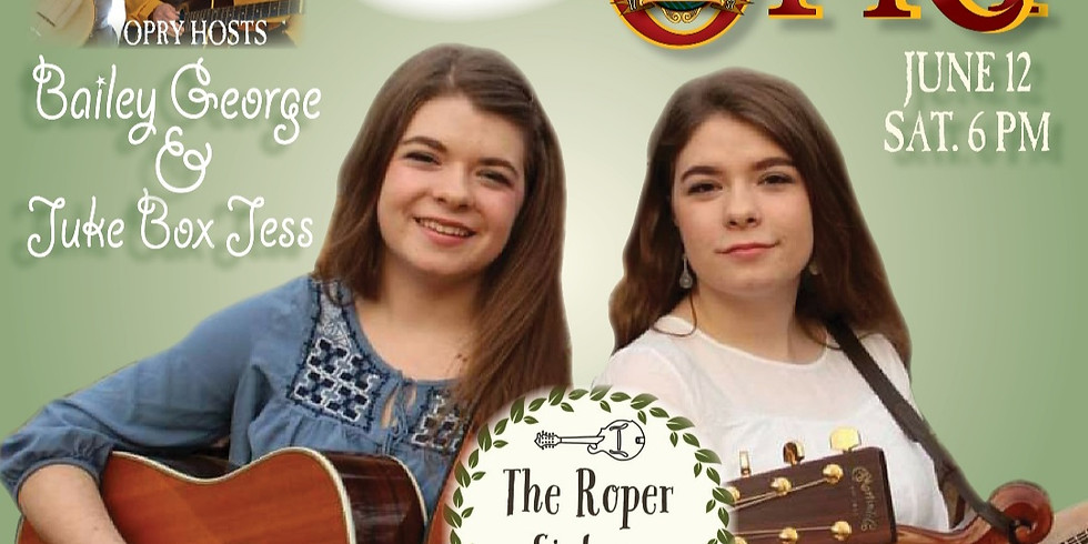Dr. ENUF Presents Opry Night - The Roper Sisters