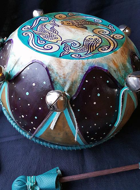 Blue Fish Drum