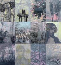 VILLAGE Zeichenserie je ca. 39 x 29 cm 2010