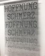 o.T. Häkelarbeit ca. 110 x 70 cm 2021
