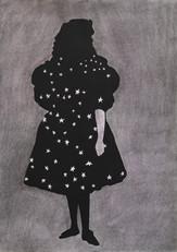 STARLET Mischtechnik auf Papier 42 x 29,7 cm 2013