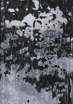 TRACES Mischtechnik  Papier auf Holz 42 x 29,7 cm 2019