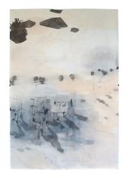 HEIMKEHR Mischtechnik auf Papier 200 x 140 cm 2007