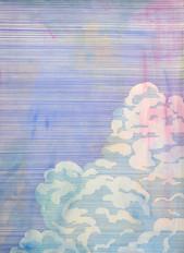 WOLKE Mischtechnik auf Papier 70 x 50 cm 2014