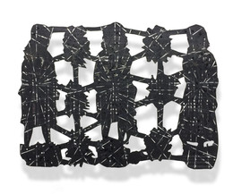 ALLIANCE Scherenschnitt Mischtechnik auf Papier Epoxidharz ca. 50 x 70 cm 2020