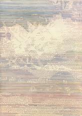SKY Buntstift, Aquarell und Acryl Papier auf Holz 42 x 29,7 cm 2019