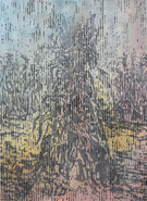 PLEUR Mischtechnik auf Papier 150 x 110 cm 2021