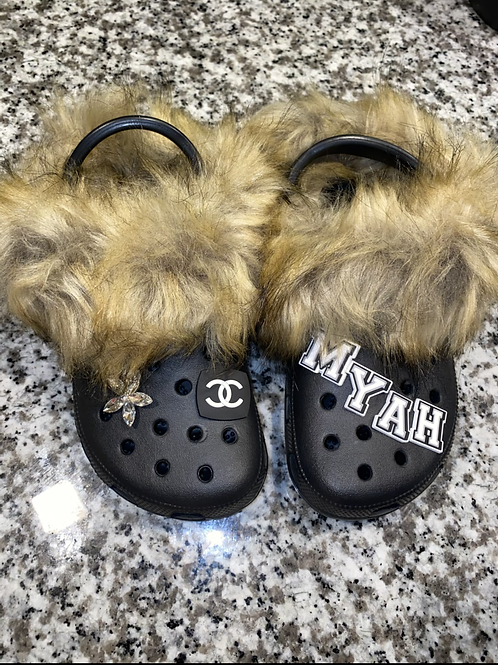 Copy of Cozy Asf Crocs (with charms)