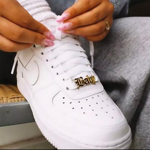 Custom Name Shoe Buckles