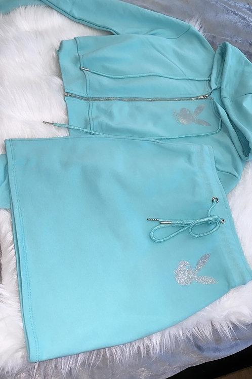 Playboy skirt set (Name on the Back)