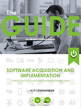 The Guide - Software Acquisition and Imp