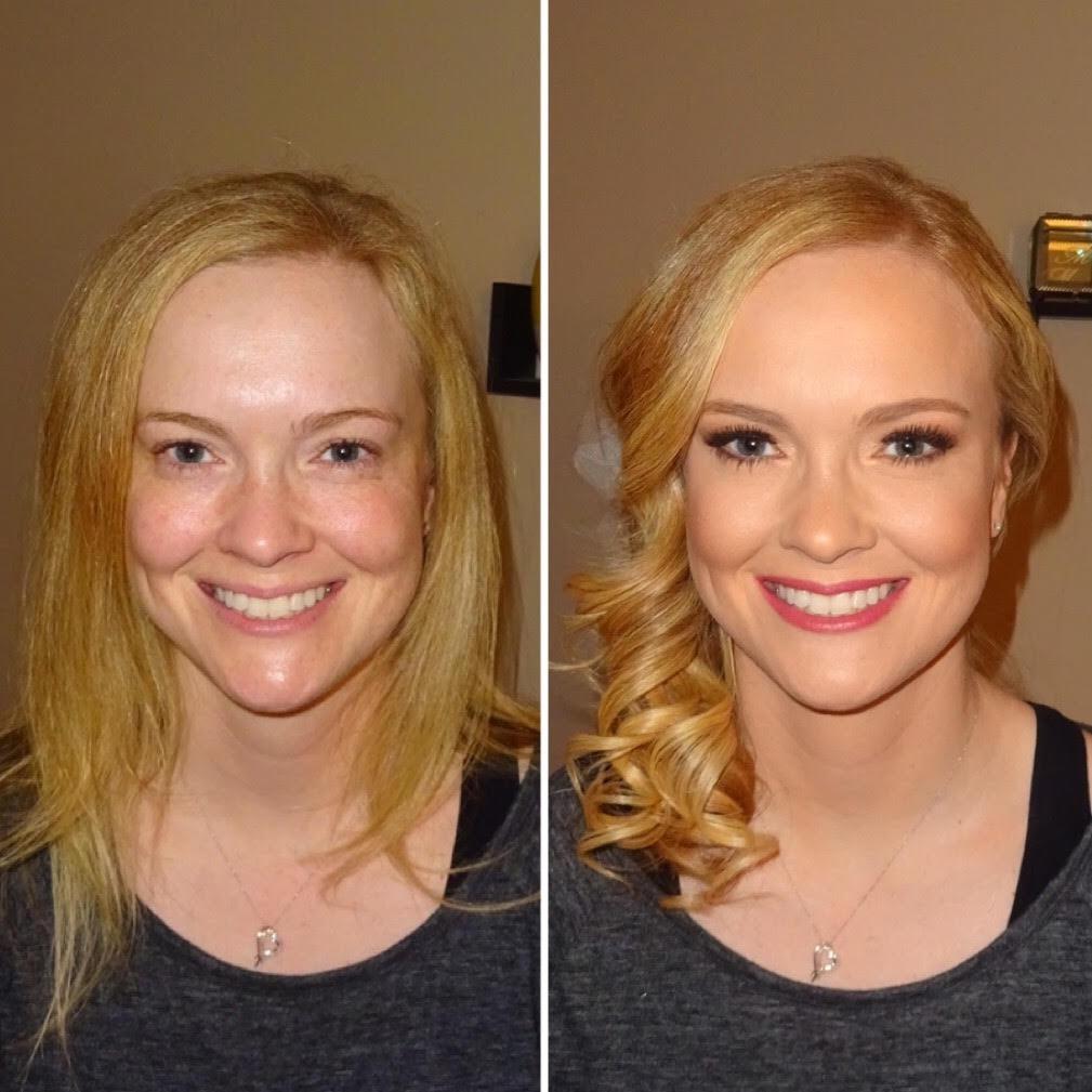 Melisa J Beauty Dallas Makeup Artist hair wedding bridal 021617 - 2