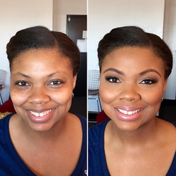 Melisa J Beauty Dallas Makeup Artist hair wedding bridal 021617 - 30