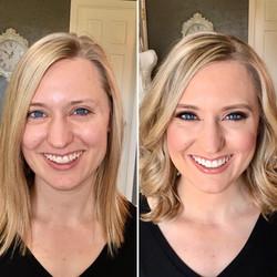 Melisa J Beauty Dallas Makeup Artist hair wedding bridal 021617 - 15