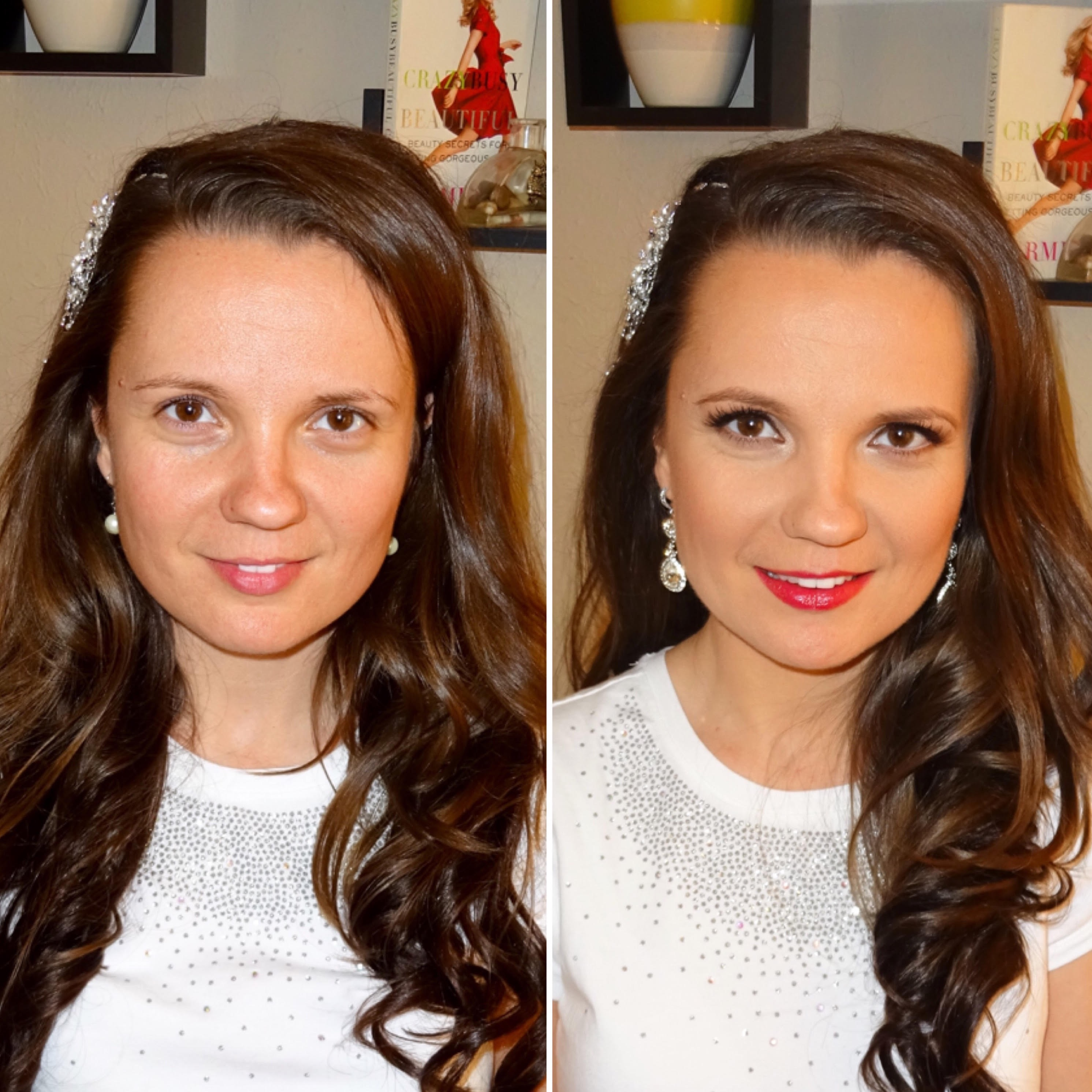 Melisa J Beauty Dallas Makeup Artist hair wedding bridal 021617 - 9