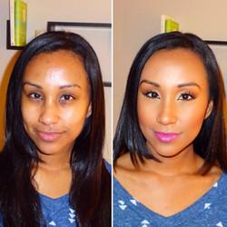 Melisa J Beauty Dallas Makeup Artist hair wedding bridal 021617 - 32