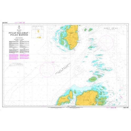 MAL 880 - BALABAC ISLAND – BANGGI ISLAND