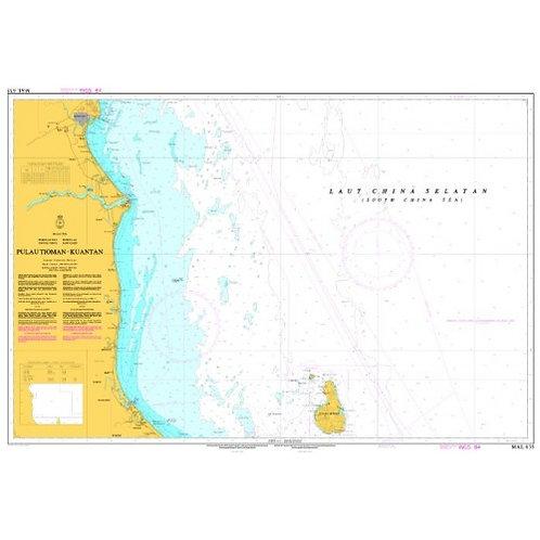 MAL 635 - TIOMAN ISLAND - KUANTAN