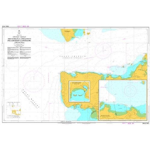 MAL 5631 - APPROACHES TO LANGKAWI PORT(TELUK EWA)