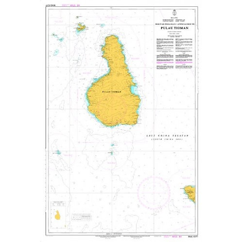 MAL 6257 - APPROACHES TO TIOMAN ISLAND