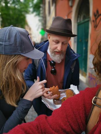סיור אוכל רחוב ברומא