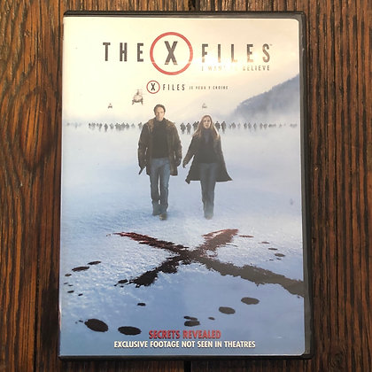 The X Files : I WANT TO BELIEVE - DVD
