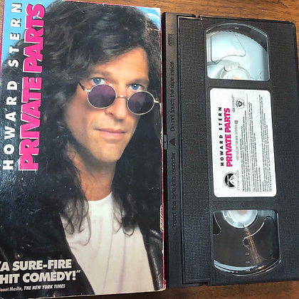 Private Parts VHS