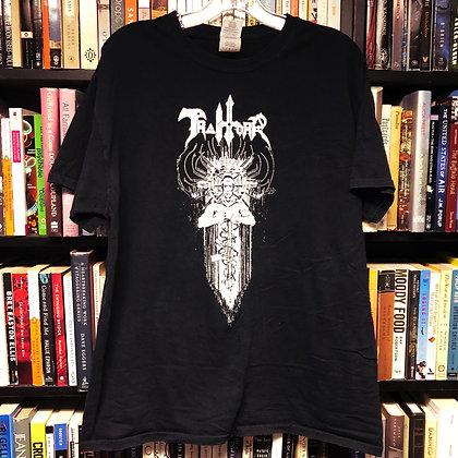 TRAITORR band T-shirt L