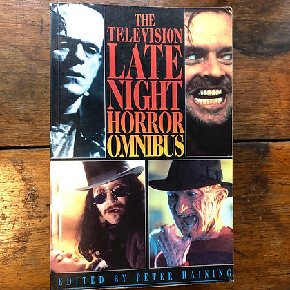 Haining, Peter - The Television Late Night HORROR Omnibus softcover