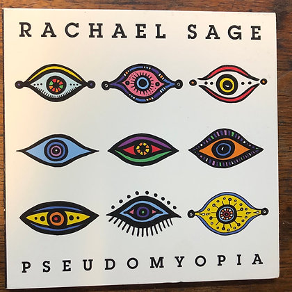 Rachel Sage - Pseudomyopia CD