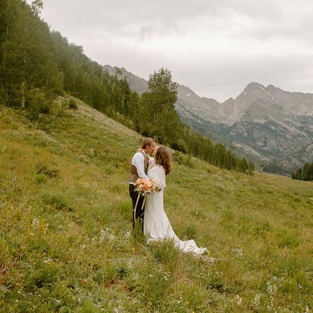 Maryanne + Zac | July 25, 2020 | Piney River Ranch | Vail, Colorado | Wedding