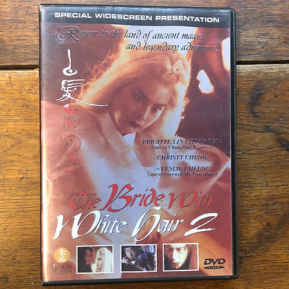 The Bride With White Hair 2 - DVD