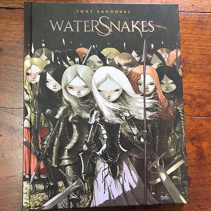 Water Snakes - Tony Sandoval hardcover comic