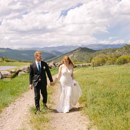 Holly + Lucas | June 8, 2019 | Argonaut Farms | Glenwood Springs, Colorado | Wedding