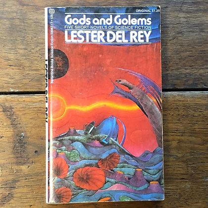Del Rey, Lester - Gods and Golems paperback