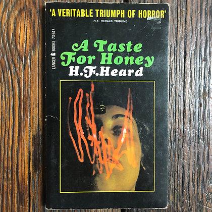 Heard, H.F. : A Taste for Honey - Paperback