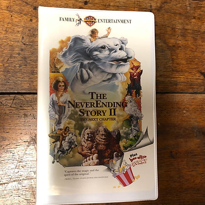 Never Ending Story 2 - The Next Chapter VHS