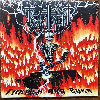 Torrefy - Thrash and Burn CD