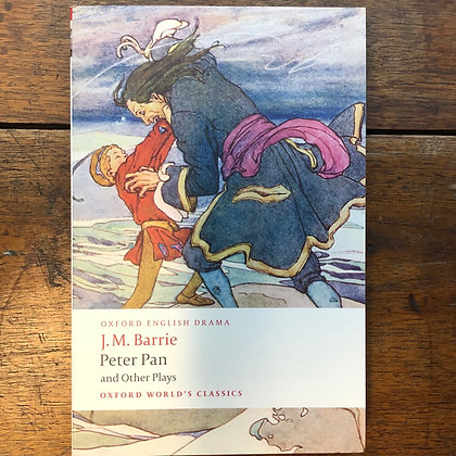 Barrie, J.M. - Peter Pan and Other Plays softcover