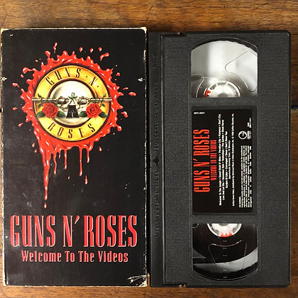Guns N' Roses : Welcome to the Videos - VHS