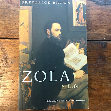 Brown, Frederick - Zola, A Life softcover