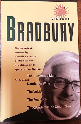 The Vintage Bradbury - selected stories softcover